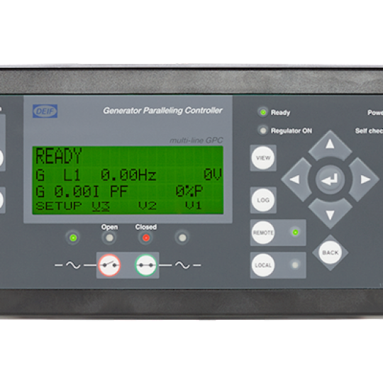 GPC-3 Gas, Generator Paralleling Controller - Power Technology Gas