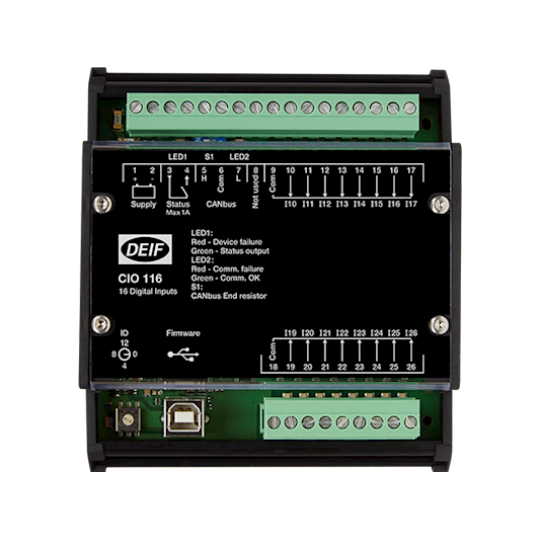 CIO 116, CAN bus IO module - 16 digital inputs