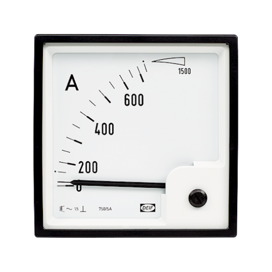 EQ48-x (90°), Moving iron meter